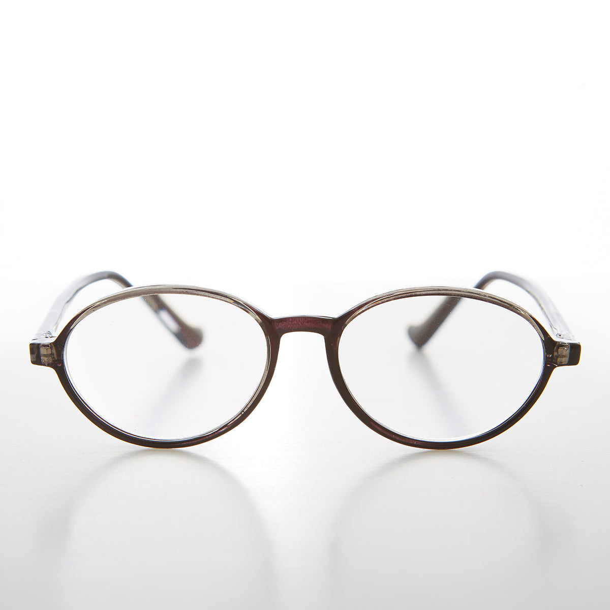 Round Oval Colorful Reading Glasses
