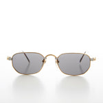 Load image into Gallery viewer, Small Rectangular Silver or Gold Vintage Sunglass
