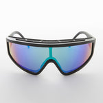 Load image into Gallery viewer, vintage sports shield mirror lens sunglass