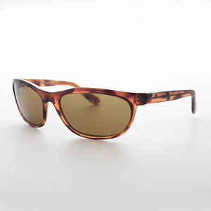 mens sports wrap vintage sunglass