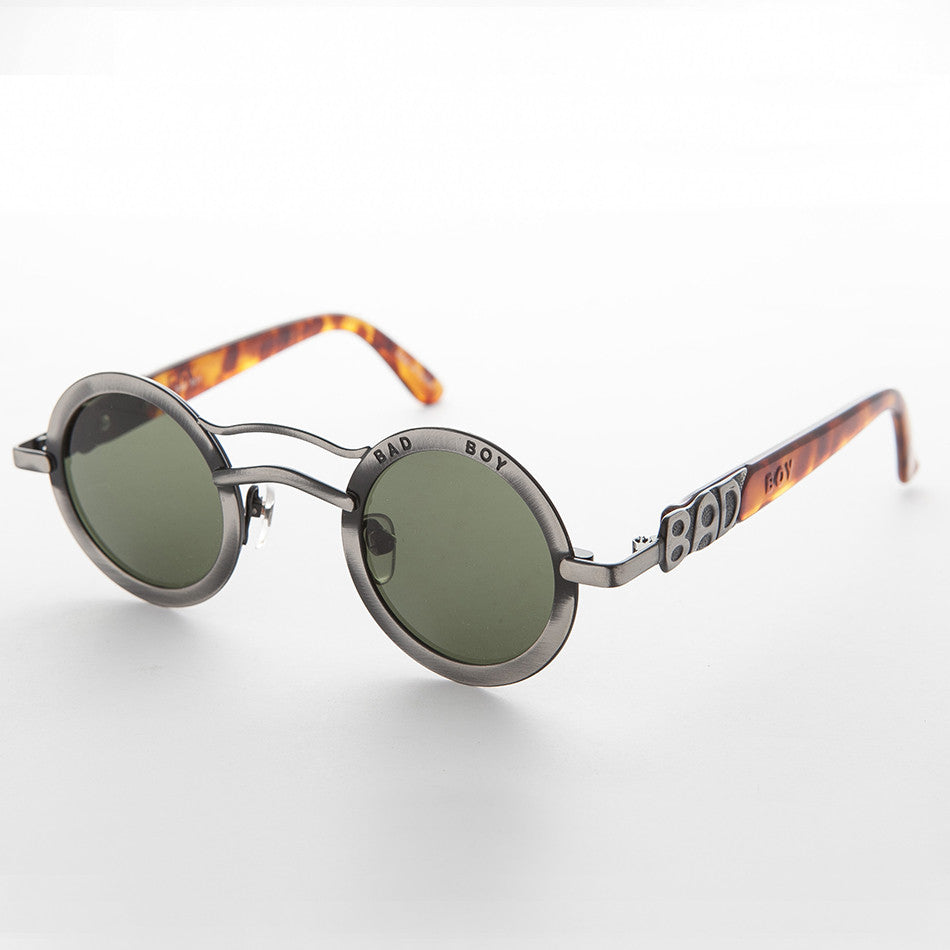 Round Boy Bad Vintage Dean Circle Sunglasses kiwPOulZXT