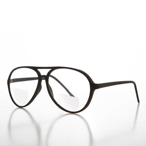 Simple Bifocal Aviator Reading Glasses