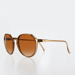 Load image into Gallery viewer, Flat Top Round Retro Vintage Sunglass