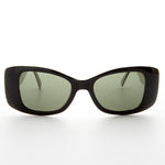 square black and white vintage cateye sunglass