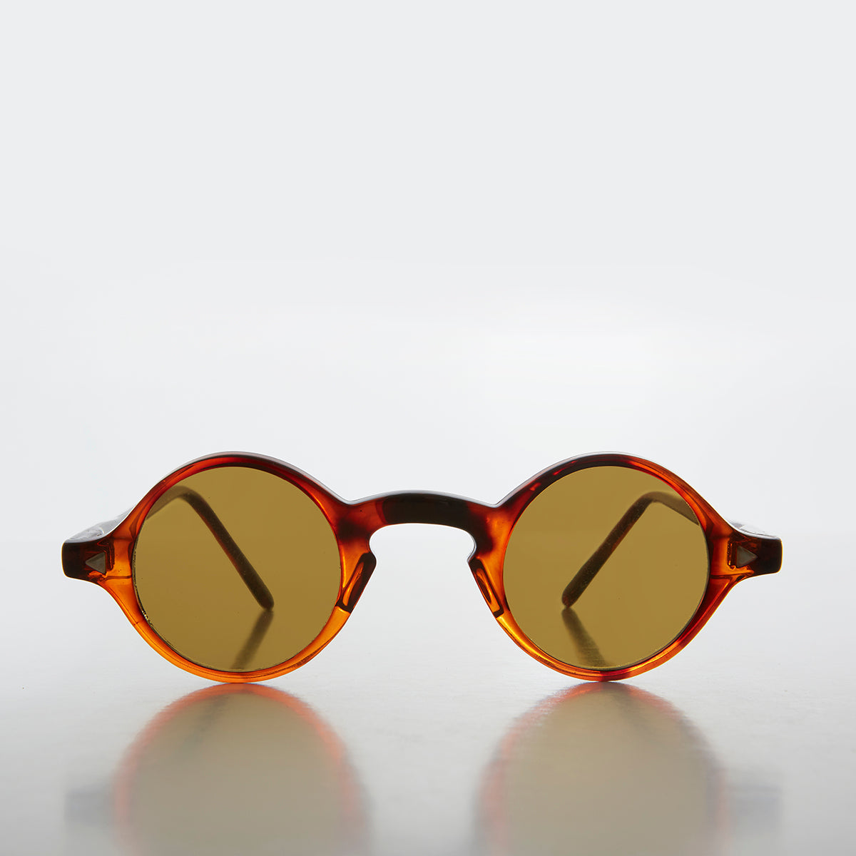 Small Round Spectacles Vintage Sunglass - Dubois