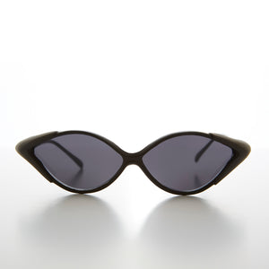 90s Diamond Shaped Vintage Sunglass with Side Shields