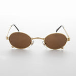 Load image into Gallery viewer, Small 90s Oval Steampunk Victorian Spectacle Vintage Sunglass