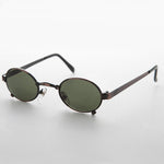 Load image into Gallery viewer, oval metal steampunk victorian sunglasses