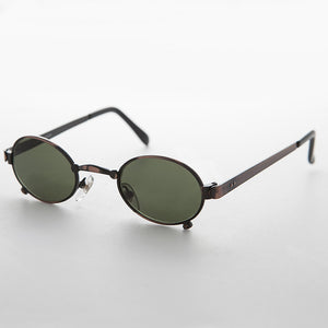 oval metal steampunk victorian sunglasses