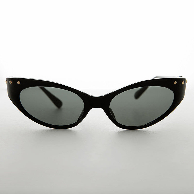 8defcfb9ea 90s cat eye vintage sunglass with studs