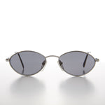 Load image into Gallery viewer, Unique Oval Metal Optical Quality 90s Vintage Sunglass