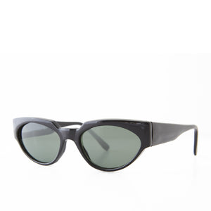 bold angular cat eye sunglass