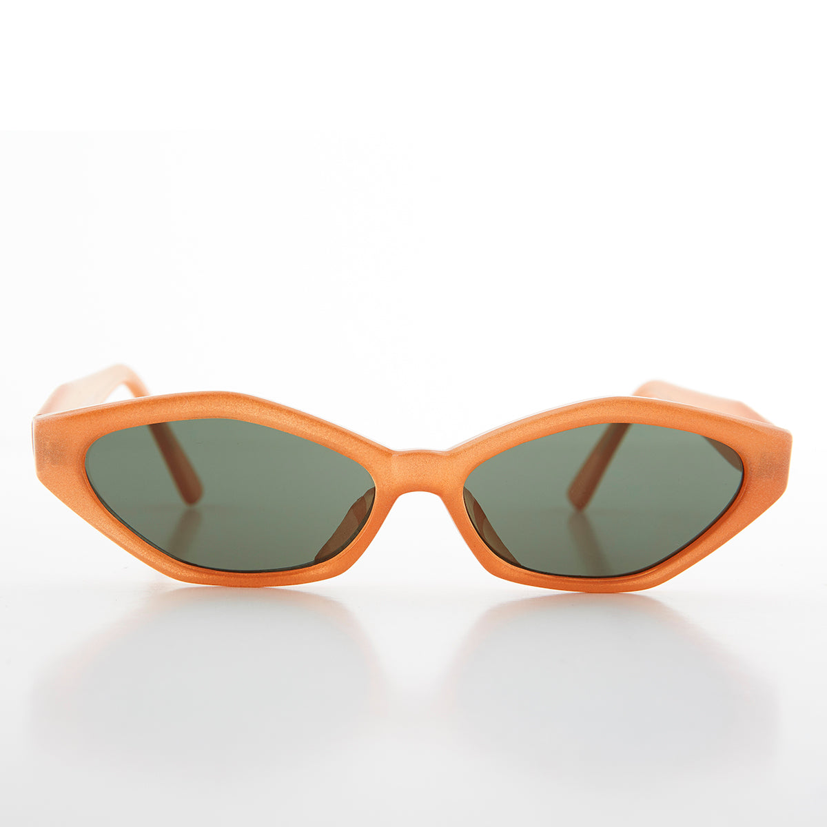 Colorful Angular Mod Cat Eye Sunglass