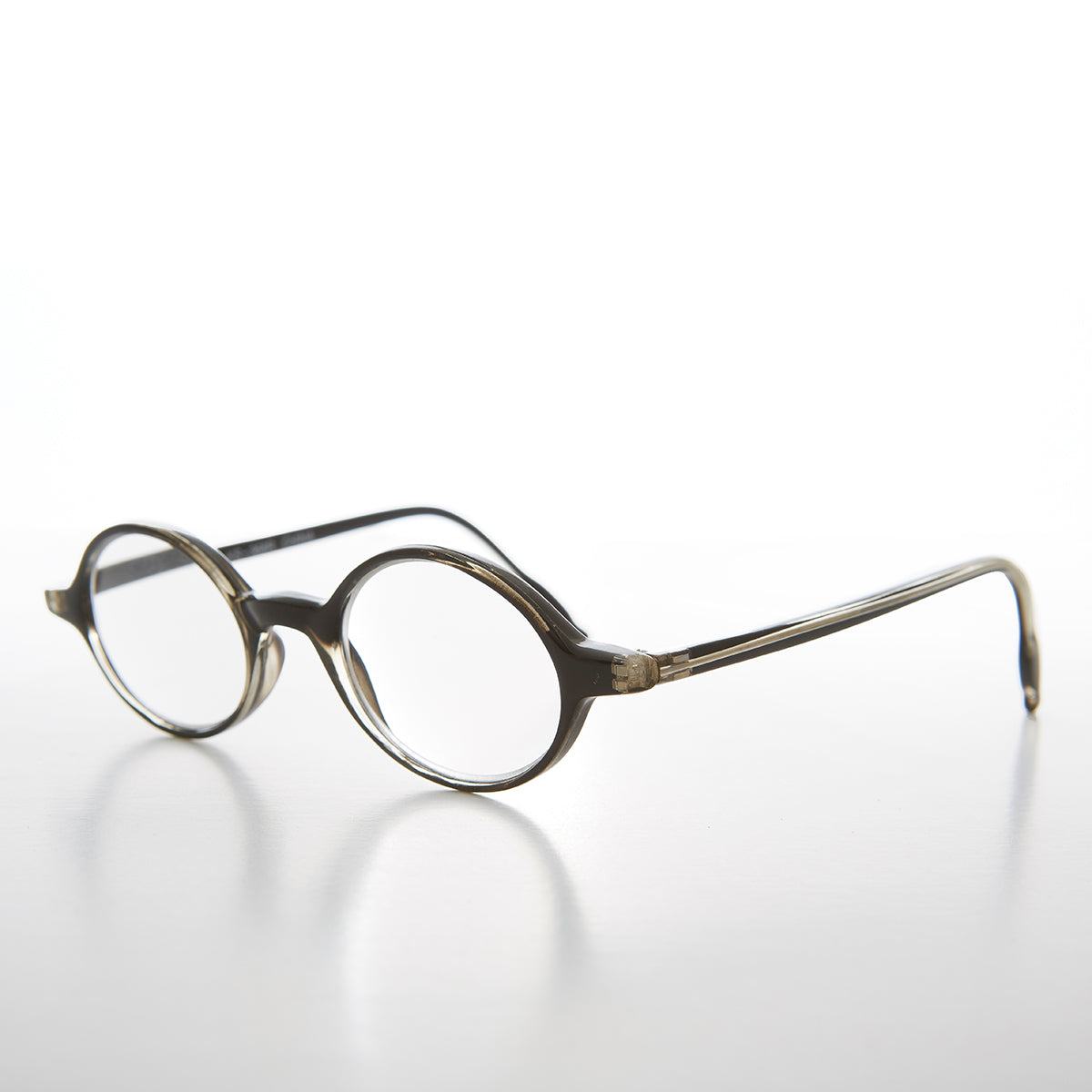 Small Black Oval Reading Glasses