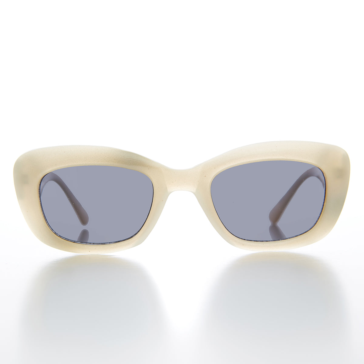 Mod Rectangular Cat Eye Vintage Sunglass