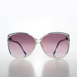 Women's Butterfly Sunglass Oversized Vintage 80s Glam