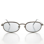Load image into Gallery viewer, Oval Metal Half Frame Transition Glass Lens Vintage Sunglass - Foster