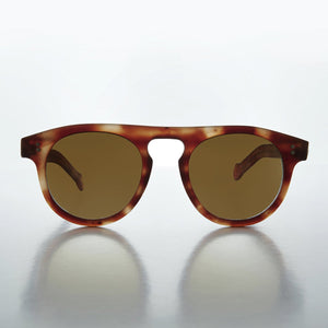 steve mcqueen aviator vintage sunglass with keyhole bridge