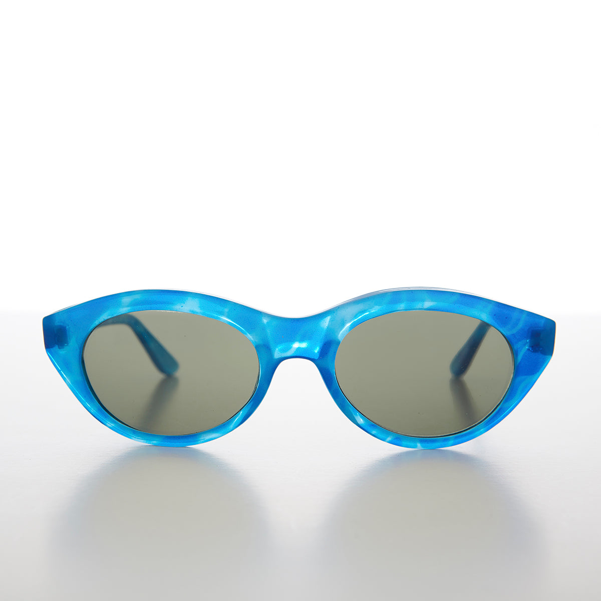 Blue Cat Eye Sunglass