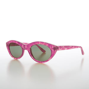 pink cat eye sunglass