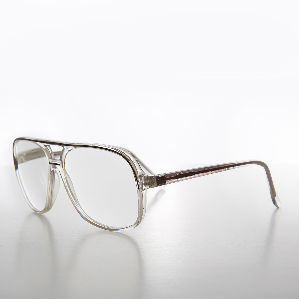 Square Retro Aviator Reading Glasses