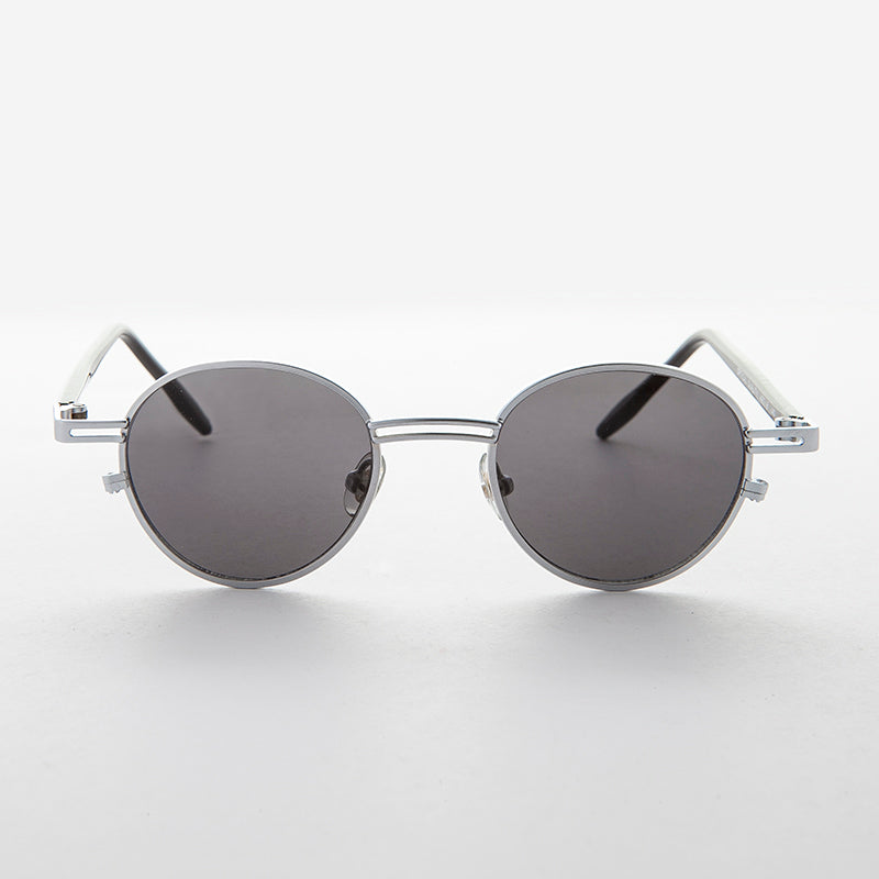 Small Round Metal Vintage Sunglasses RX Optical Quality