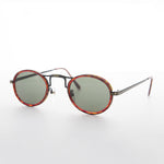 Load image into Gallery viewer, oval great gatsby aviator vintage sunglass