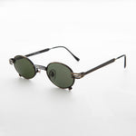 Load image into Gallery viewer, Oval Vintage Steampunk Victorian Spectacle Sunglass