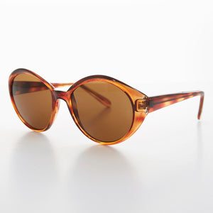 round cat eye vintage sunglasses