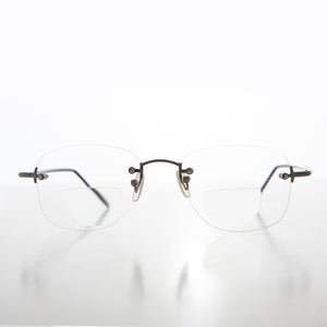 Rimless Bifocal Readers