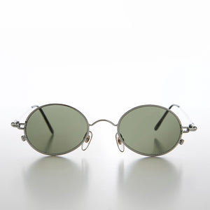 Oval Metal Spectacles 90s Vintage Dead Stock Sunglass