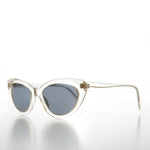 Load image into Gallery viewer, Clear Frame Cateye Vintage Sunglass Retro 50s