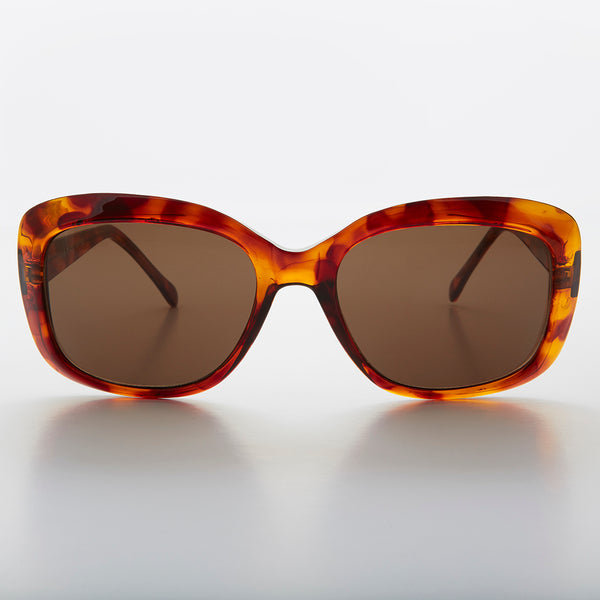 square womens vintage sunglass