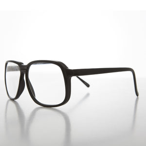 men's big square vintage reading glasses