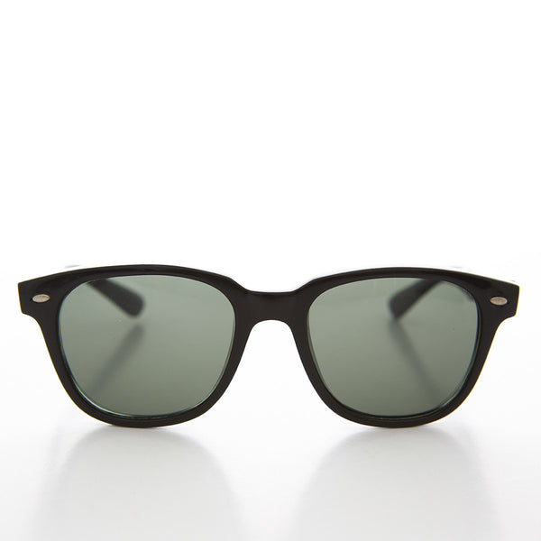 Mad Men Square Horn Rim 1960s Style Vintage Sunglass