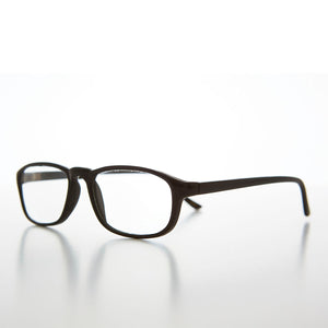 Rectangular Half Frame Glass Lens Reading Glasses