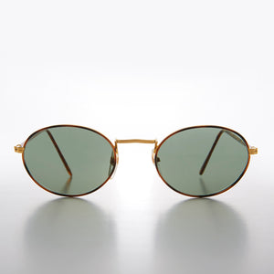 Gold and Tortoise Perfect Oval Sunglass