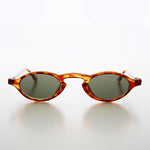 Load image into Gallery viewer, Tiny Oval Spectacle Vintage 90s Steampunk Sunglass