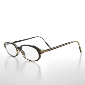 Black Rounded Rectangular Reading Glasses
