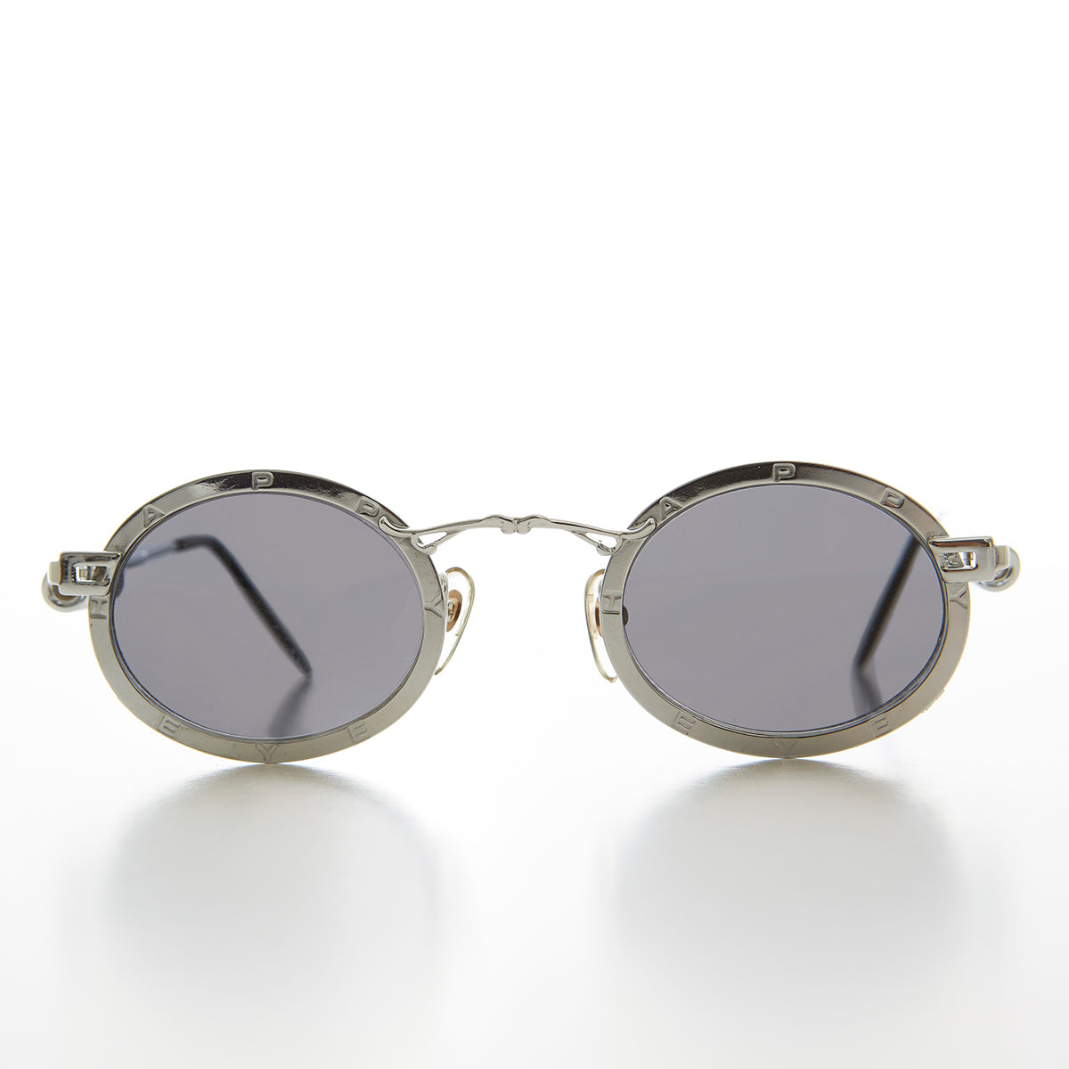 Oval Industrial Spectacles with Spring Coil Temple