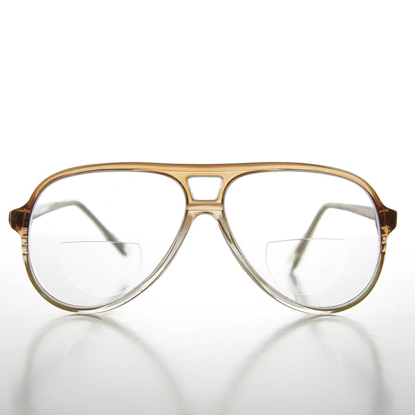 aviator bifocal reading glasses