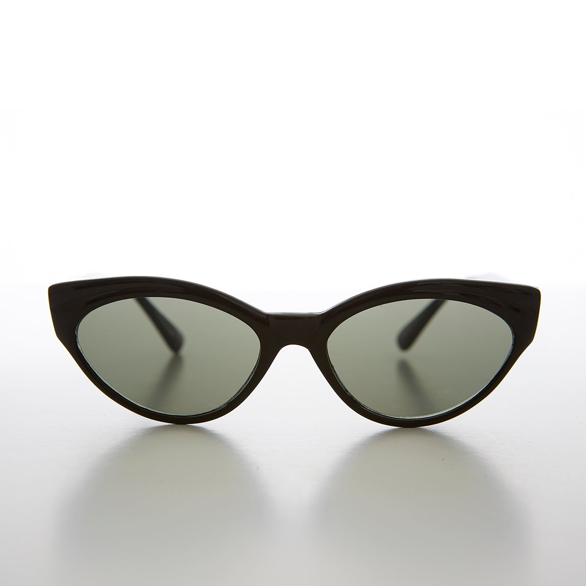 Small Oval Cat Eye Vintage Sunglass