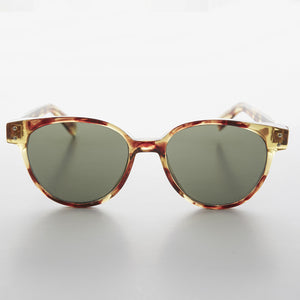 round pantos cat eye vintage sunglasses