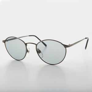 round o'malley style photosun transition glass lens vintage sunglass