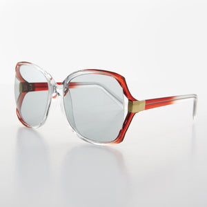 oversized womens butterfly vintage sunglass with transition lens