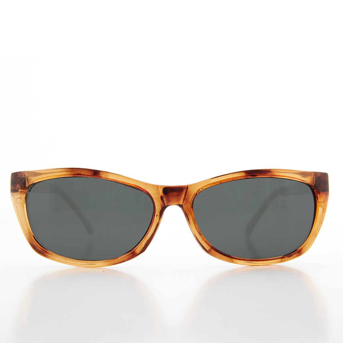 Rectangular Beatnik Deadstock Sunglass with Glass Lens