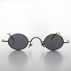 Micro Frame Oval Spectacle Vintage Sunglass- Joseph