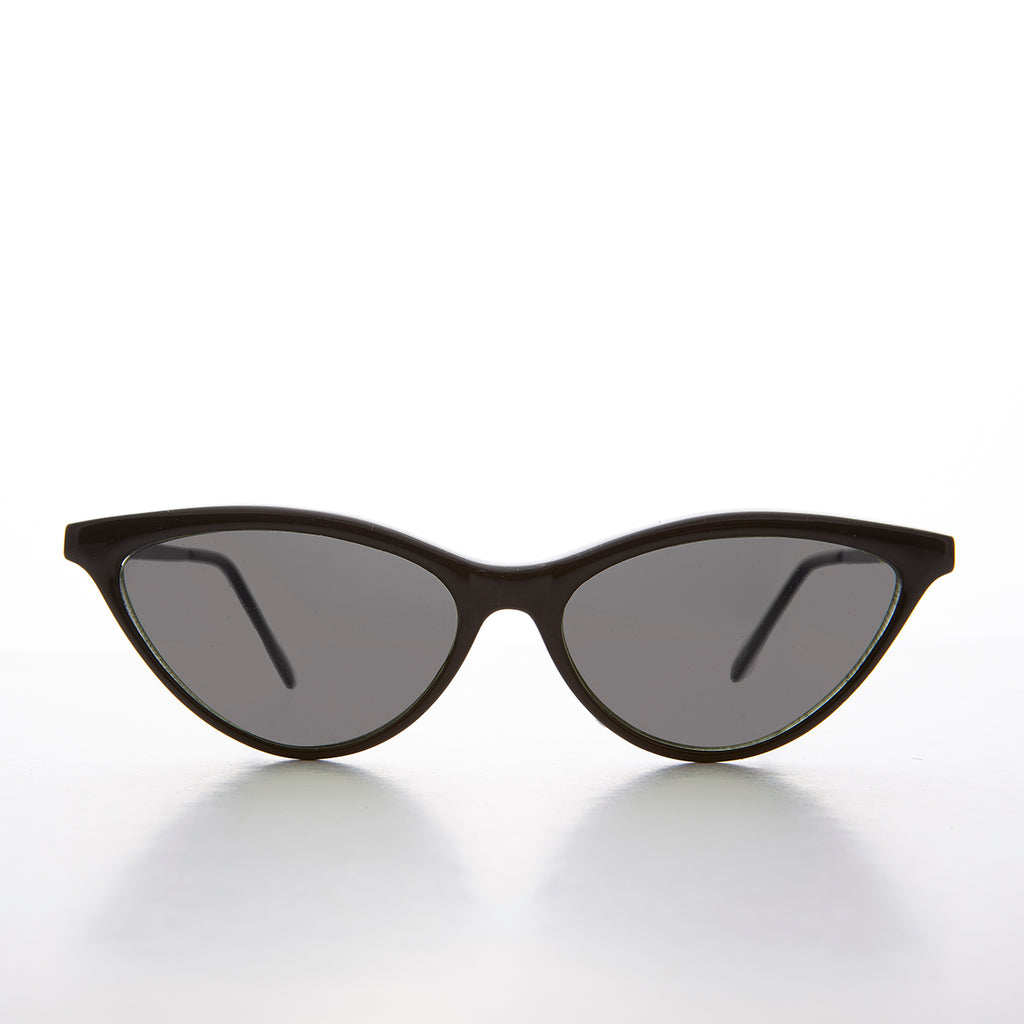 90s Thin Pointed Tip Cat Eye Vintage Sunglass