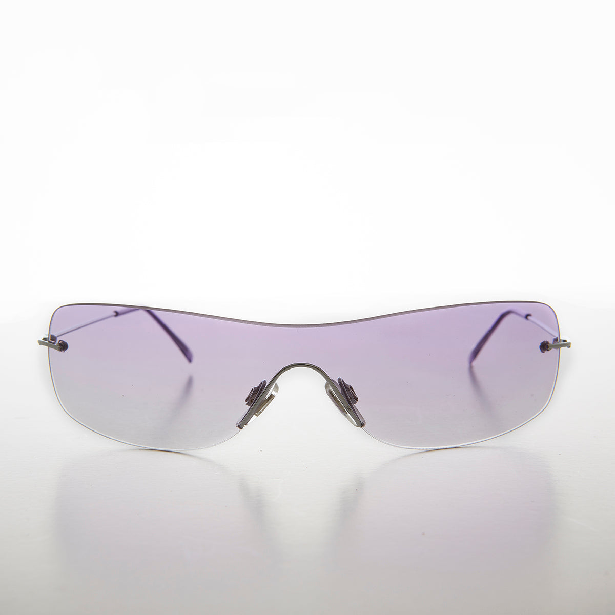Purple Colored Lens Shield Vintage Sunglass