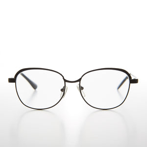Women's Metal Old-fashioned Reading Glasses